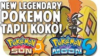 """POKEMON SUN & POKEMON MOON NEW LEGENDARY POKEMON """"TAPU KOKO"""" Thoughts + Ideas!"""