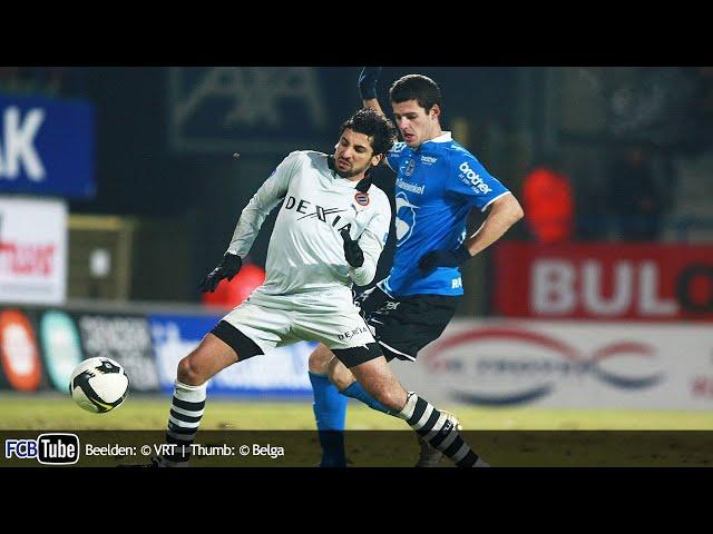 2008-2009 - Jupiler Pro League - 21. FC Dender - Club Brugge 0-2
