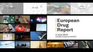 European Drug Report 2015 to be launched on 4 June