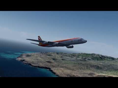 P3D V4 - Aerosoft DC-8 - GCHI to KCLT (4K)