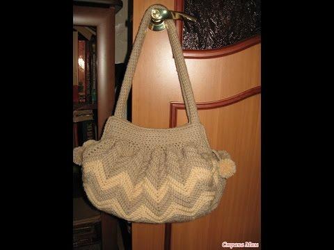 Crochet bag| Free |Simplicity Patterns| 105 - YouTube