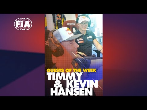 #RaceAtHome your FIA Digital Motor Sport Magazine - Episode 9 w/ Timmy &  Kevin Hansen