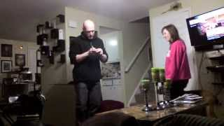 dad dancing to suga boom boom