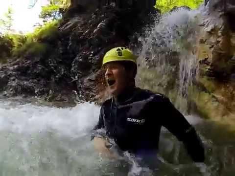 Canyoning Aquactive Slovinsko
