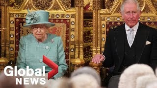 Queen's speech formally reopens UK parliament following election | FULL
