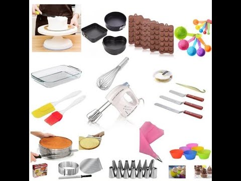 Basic Tools Required For Baking