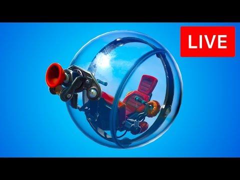🔴 [LIVE] *NEW* FORTNITE THE BALLER VEHICLE! THE BALLER GAMEPLAY! (FORTNITE BATTLE ROYALE) thumbnail