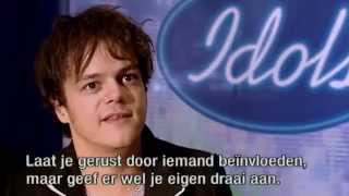 "Jamie Cullum reacts on candidates who sing his song ""Everlasting Love"" - Audition - Idols season 3"