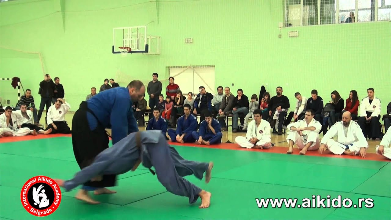 Internacionalna Aikido Akademija | Milorad Vujovic | Crni pojas 5.Dan