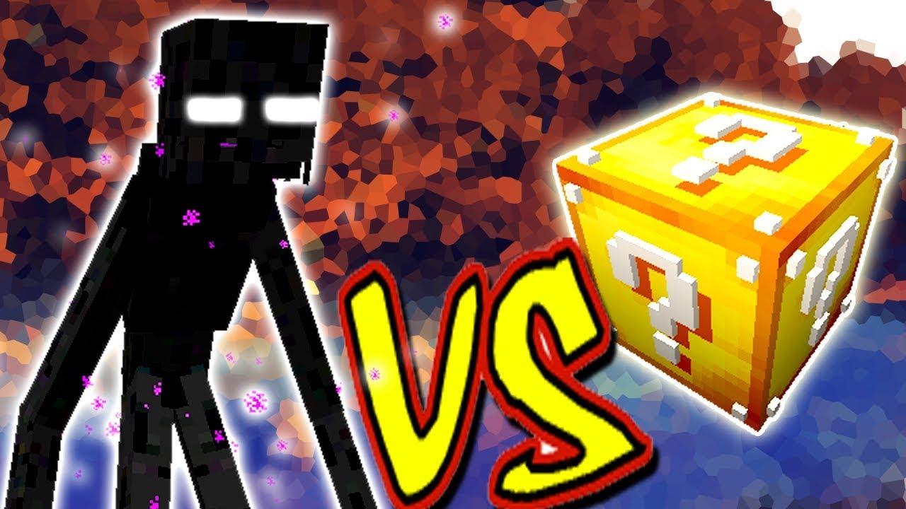 Enderman Mutante Vs Lucky Block Minecraft Lucky Block Challenge