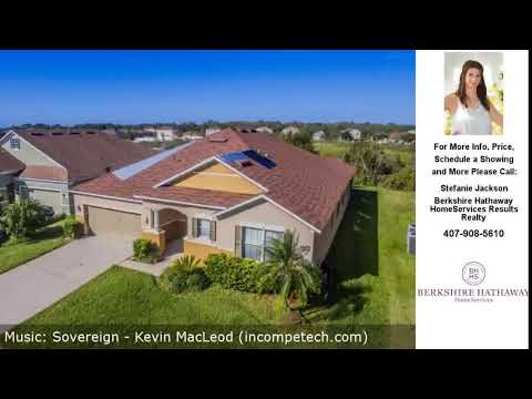 3410 WATERFRONT DRIVE, SAINT CLOUD, FL Presented by Stefanie Jackson.
