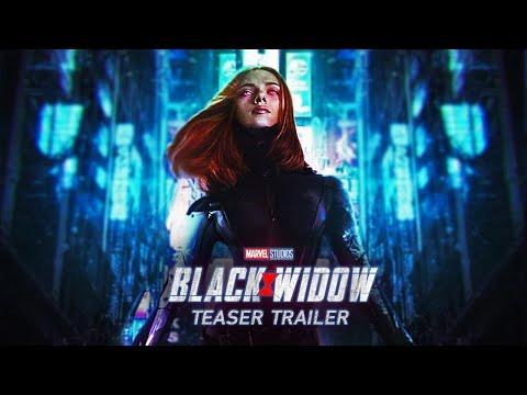 """BLACK WIDOW (2020): SCARLETT JOHANSSON - Movie Teaser Trailer Concept """" Widow Origin """""""