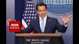 Anthony Scaramucci out as Trump media chief - BBC News