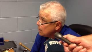 Rick Renteria calls Fenway fans