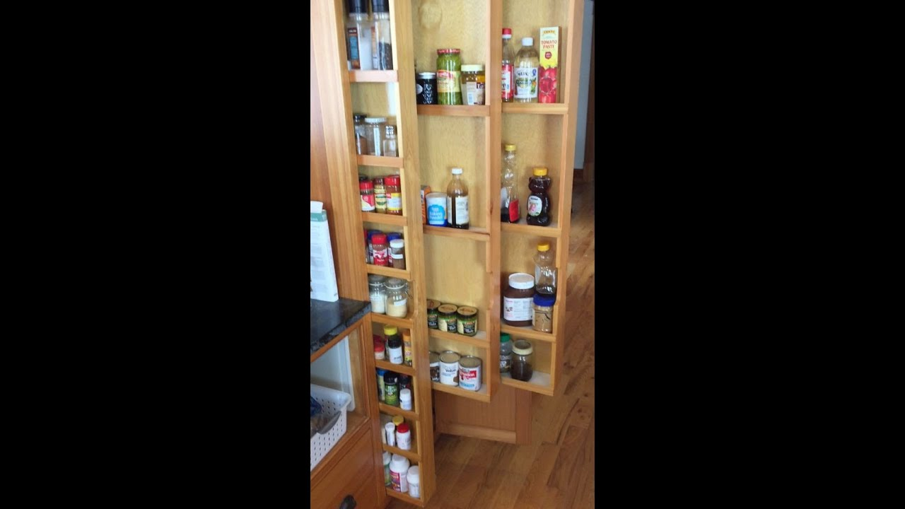 Hidden Pull Out Spice Racks Custom Vertical Drawers