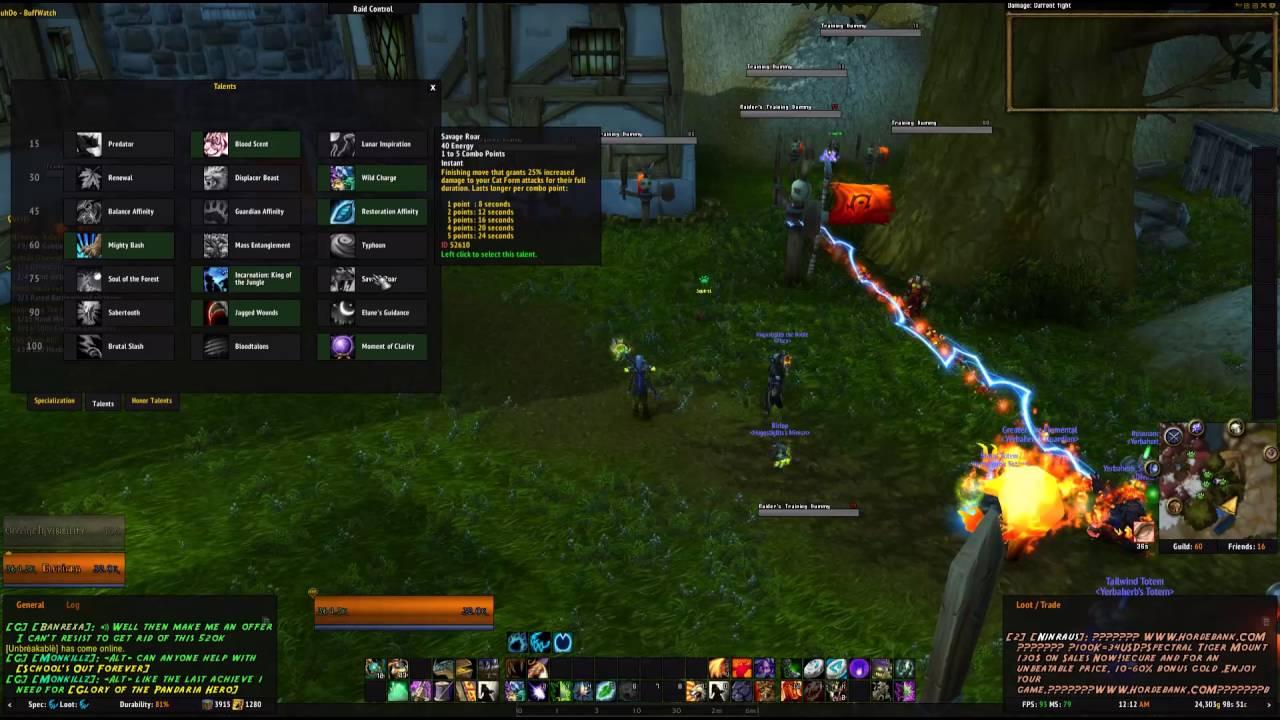 Feral druid guide/One button macro 7 0