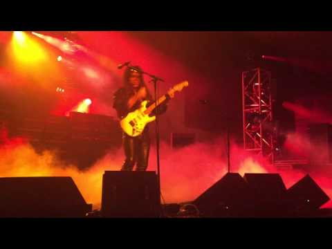 Generation Axe: Yngwie Malmsteen in Vancouver April 6th 2016