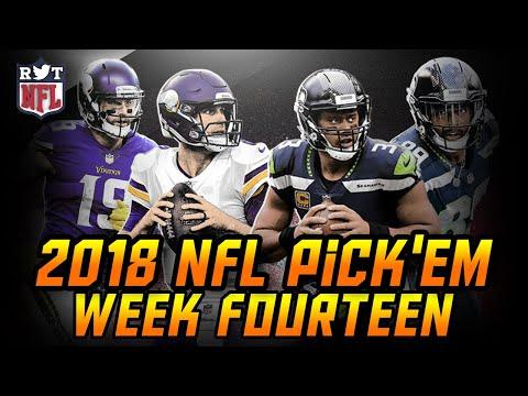 2018 Week 14 NFL Predictions   NFLRT Pick'em Challenge