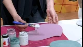 #Manidilara i nuovi colori Chalk Paint effetto shabby e provenzale con trasfetimento