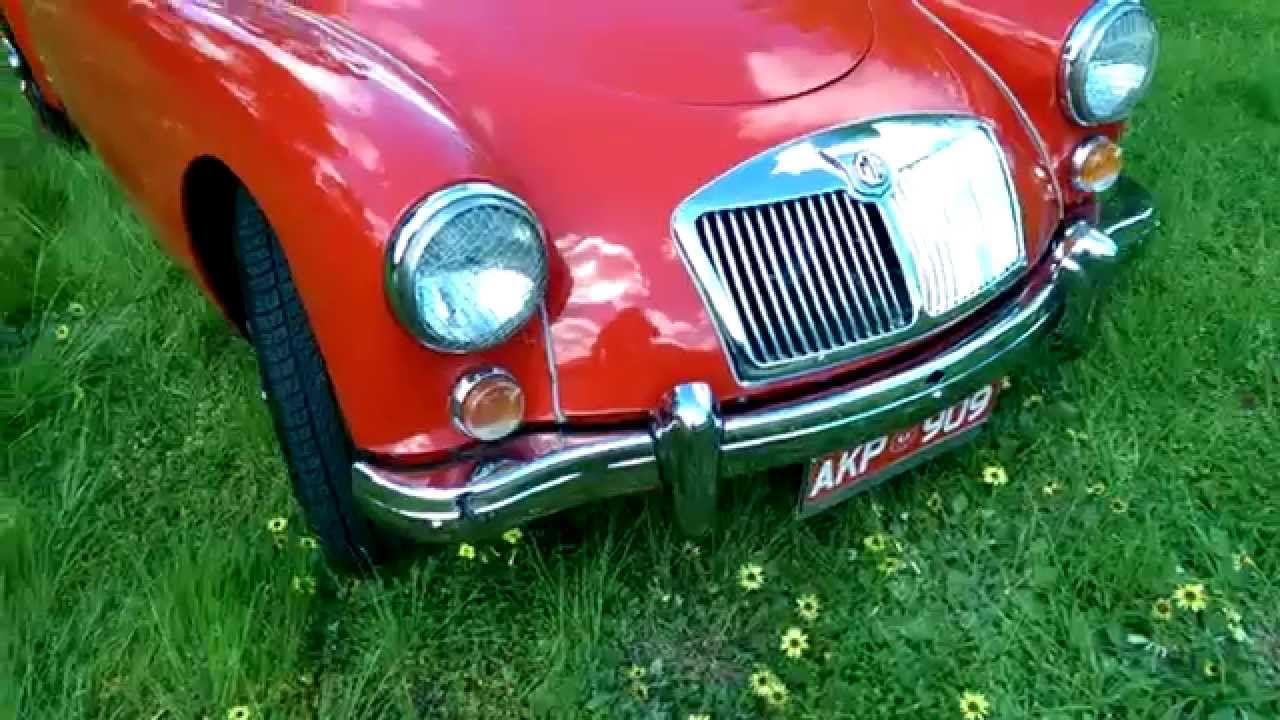 Firma Trading Classic Cars 1958 MG A Sports Convertible - YouTube