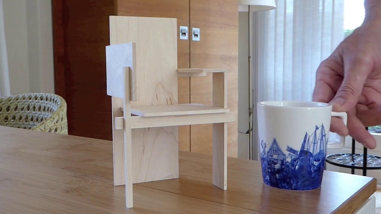 Miniatuur Rietveld Stoel : Rietveld stoel zelf maken best of rietveld replica stoel groot en