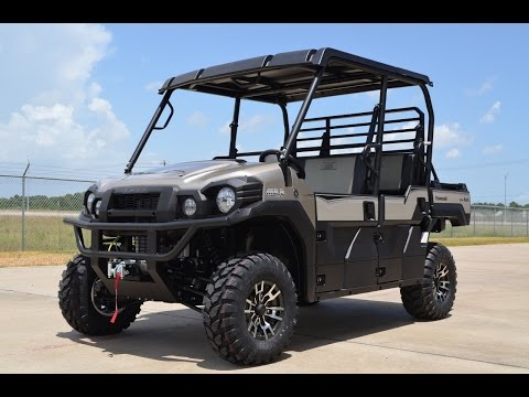 SALE $14,999:  2016 Kawasaki Mule Pro FXT Ranch Edition Overview and Review