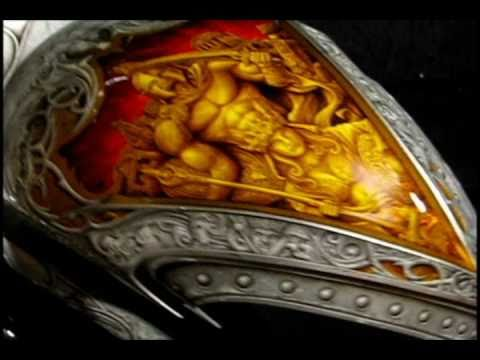 Airbrush Fitto Spartacus Bike Paint Youtube