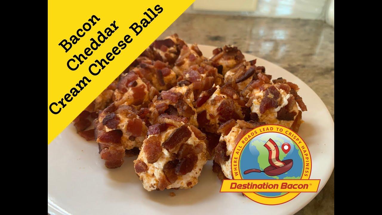 Low carb! Keto! Bacon Cheddar Cheese Balls!