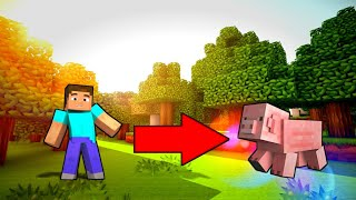 How To Morph In Minecraft (No Mods,No Addons)✨