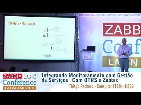 Thiago Pacheco - Integrating Monitoring with Service Management  With OTRS and Zabbix