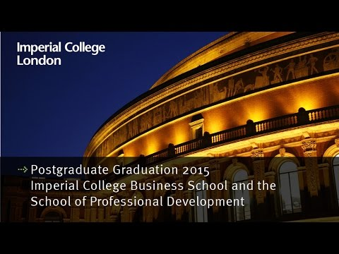Postgraduate Graduation 2015: Business School and the School of Professional Development