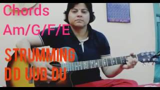 Bhula do || song by Raeth || Easy Guitar chords