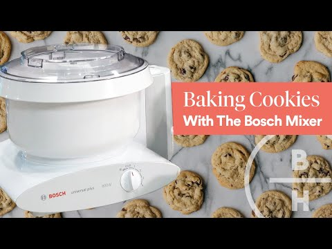 Baking Cookies With The Bosch Mixer
