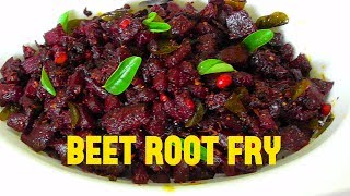 Beetroot fry/how to make healthy beetroot fry/simple & easy beetroot fry