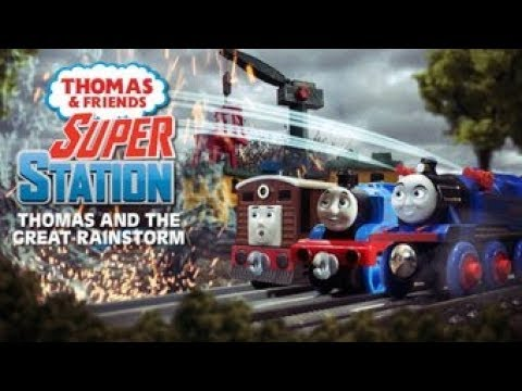 Thomas and the Great Rainstorm #3: Save the Super Station! | Super Station #6 | Thomas & Friends