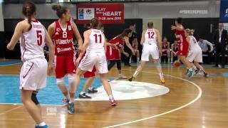 Russia v Turkey - Highlights Group A - FIBA 2014 U20 European Championship Women