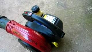 Homelite Vac Leaf Blower Repair