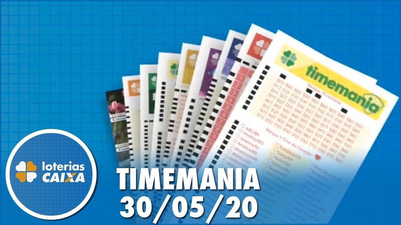 assistir - Resultado da Timemania - Concurso nº 1491 - 30/05/2020 - online