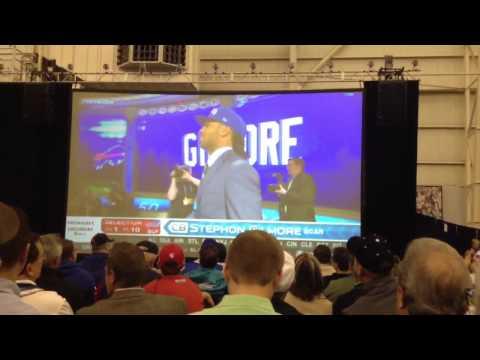 2012 NFL Draft Buffalo bills  select Stephon Gilmore