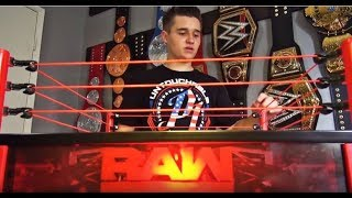 Toys 'R Us WWE TOY HUNT VLOG | New RAW MAIN EVENT ELITE RING