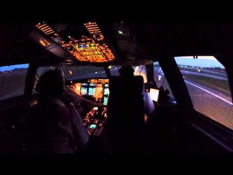 Scandinavian 997 taking off for Shanghai