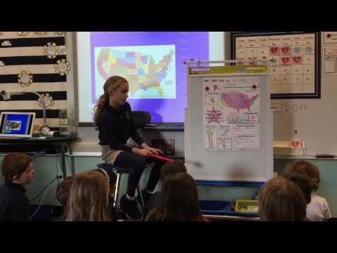 Avery SCS 2nd Grade California State Presentation