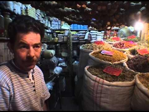 Inside the Spice Markets of the Souq al-Madina in Aleppo Syria, 2000 Pre Civil War