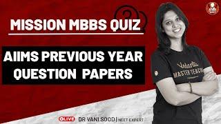 AIIMS Previous Year Question Paper | NEET Biology | NEET 2021 Vedantu Preparation | Biotonic