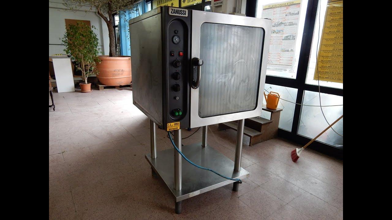 asta forno professionale zanussi - youtube - Cucine Industriali Zanussi