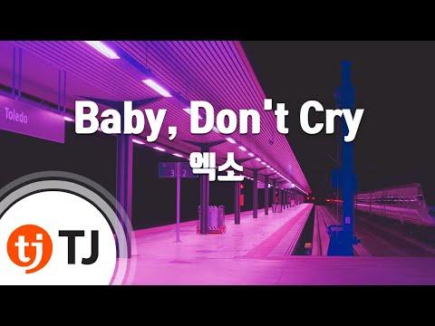 [tj노래방-/-여자키]-baby,-don't-cry(인어의눈물)---엑소-(---exo)-/-tj-karaoke