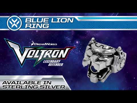 Voltron: Blue Lion Ring | Han Cholo Jewelry | Precious Metals