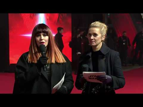 Star Wars: The Last Jedi European Premiere Red Carpet