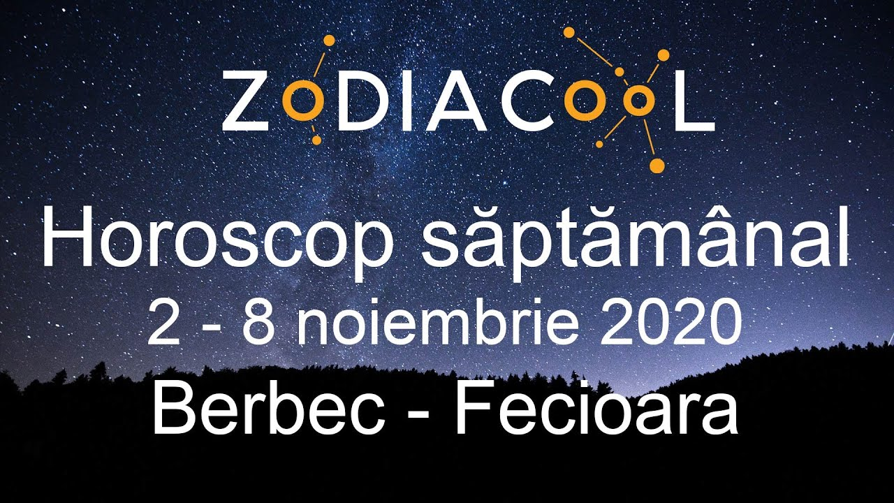 Horoscop saptamana 2 - 8 Noiembrie 2020 pentru Berbec - Fecioara, oferit de ZODIACOOL
