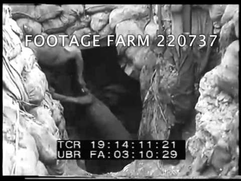 WWI - Mining Activity On the British Front 220737-02 | Footage Farm